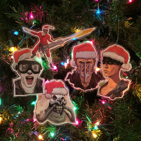 MAD MAX: FURY ROAD Christmas Ornament SET!