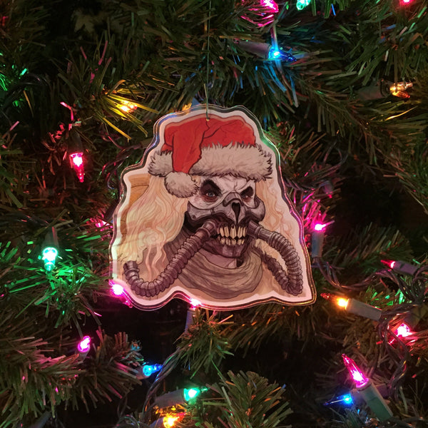 IMMORTAN JOE Mad Max: Fury Road Christmas ORNAMENT!
