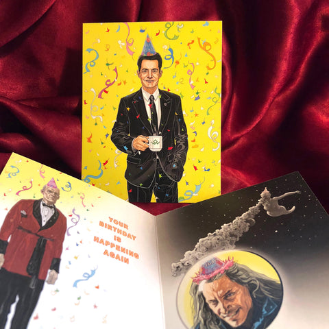 Agent Cooper TWIN PEAKS Birthday CARD!