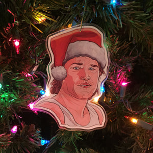 JACK BURTON Big Trouble Little China CHRISTMAS Ornament!