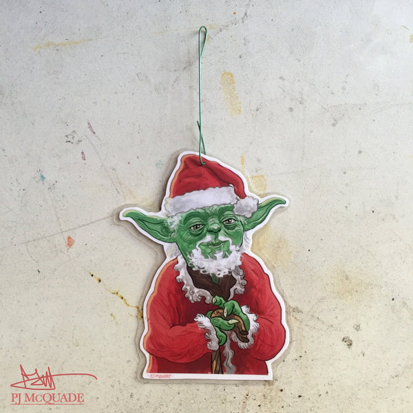 YODA CLAUS Star Wars CHRISTMAS Ornament!