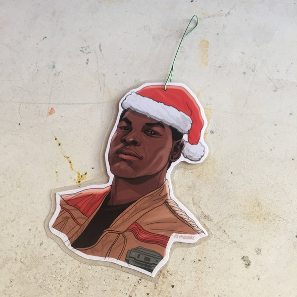 Finn STAR WARS Christmas Ornament!