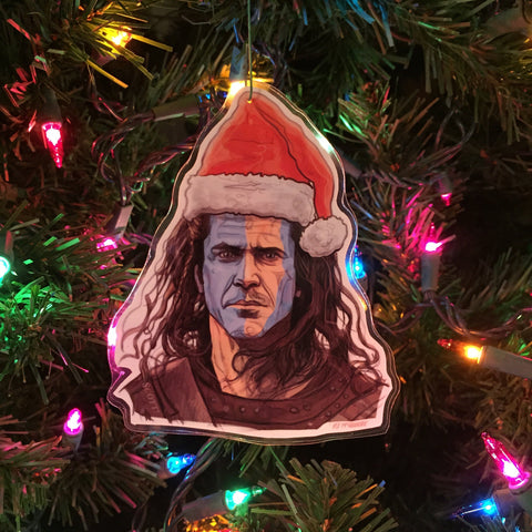 BRAVEHEART Christmas Ornament!