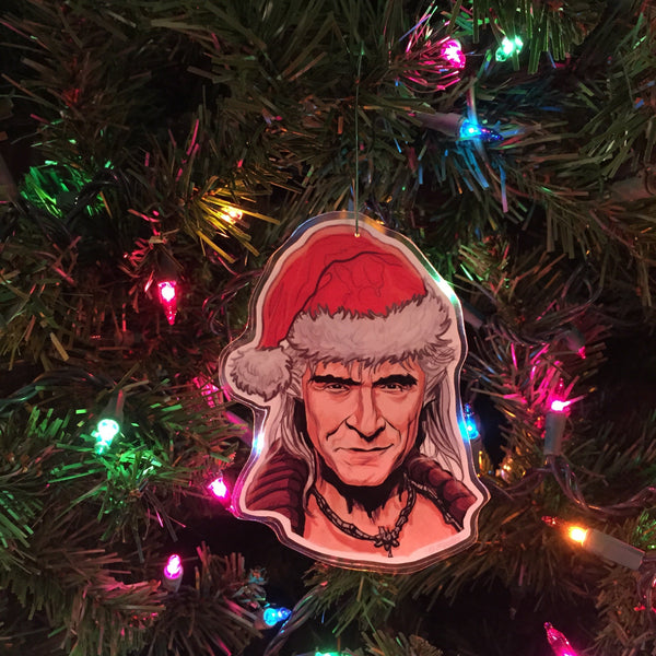 KHAN Star Trek CHRISTMAS Ornament!