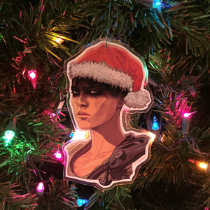 FURIOSA Mad Max Fury Road CHRISTMAS ORNAMENT!