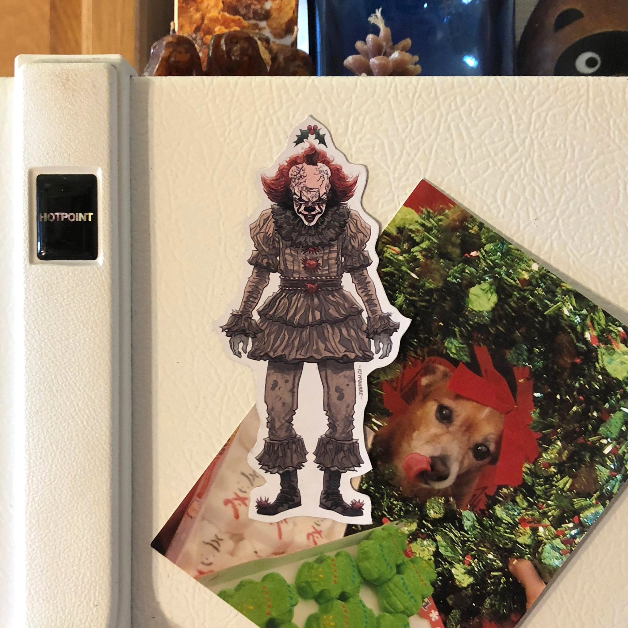 PENNYWISE 2017 Christmas FRIDGE MAGNET!