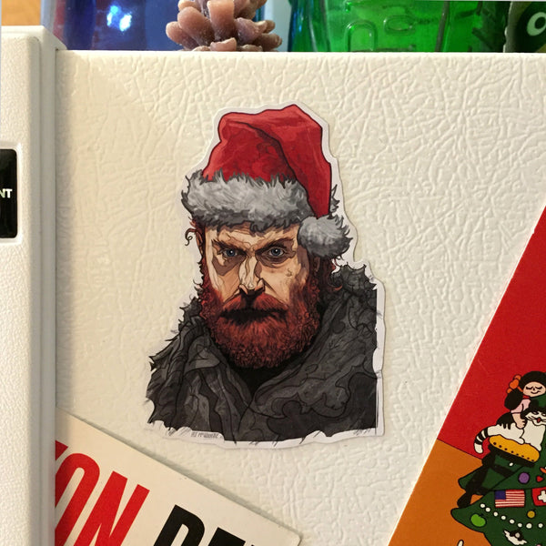 TORMUND Game of Thrones Christmas FRIDGE MAGNET!