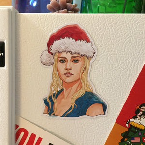 DAENERYS TARGARYEN Game of Thrones CHRISTMAS Fridge Magnet!