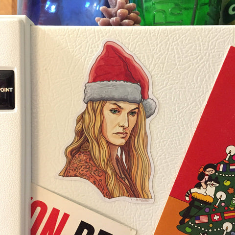 CERSEI LANNISTER Game of Thrones CHRISTMAS Fridge Magnet!