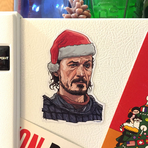 BRONN Game of Thrones CHRISTMAS Fridge MAGNET!