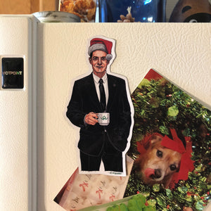 AGENT COOPER Twin Peaks Christmas FRIDGE MAGNET