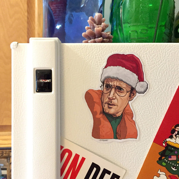 CHIEF BRODY Jaws Christmas Fridge MAGNET!