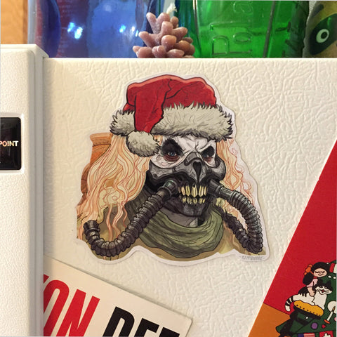 IMMORTAN JOE Mad Max: Fury Road Christmas Fridge MAGNET!