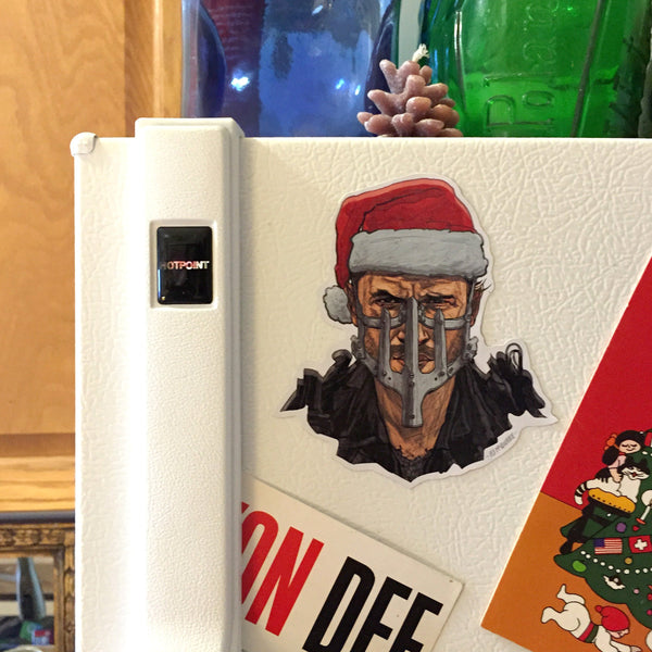Max MAD MAX: FURY ROAD Christmas Fridge MAGNET!