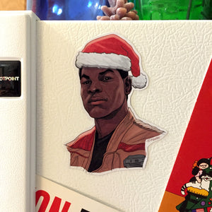 FINN Star Wars Christmas Fridge MAGNET!
