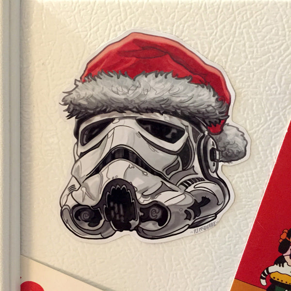 Empire STORMTROOPER Star Wars Christmas Fridge MAGNET!