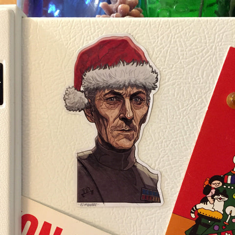GRAND MOFF TARKIN Star Wars CHRISTMAS Fridge Magnet!