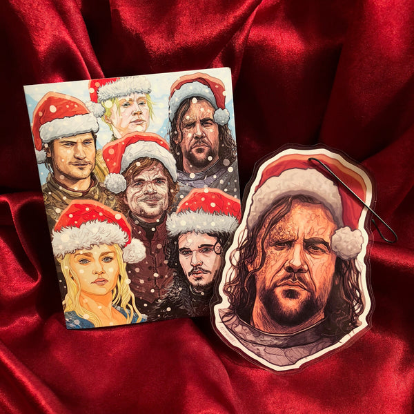 Any CHRISTMAS Card/Ornament COMBO SPECIAL!