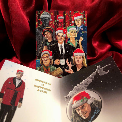 TWIN PEAKS Christmas CARD!