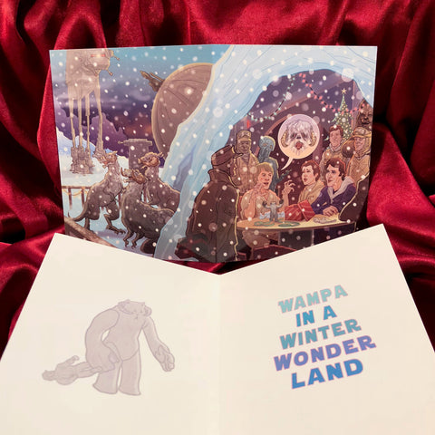 HOTH ECHO BASE Star Wars Christmas Card!