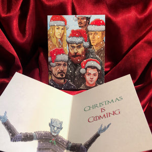 GAME of THRONES Night King Christmas CARD!