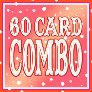 ANY 60 Cards DISCOUNT COMBO!