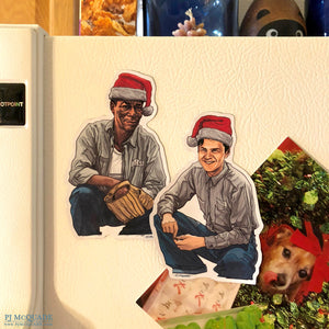 SHAWSHANK REDEMPTION Christmas Fridge Magnet SET!