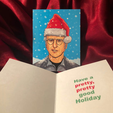 LARRY DAVID Curb Your Enthusiasm Christmas CARD!