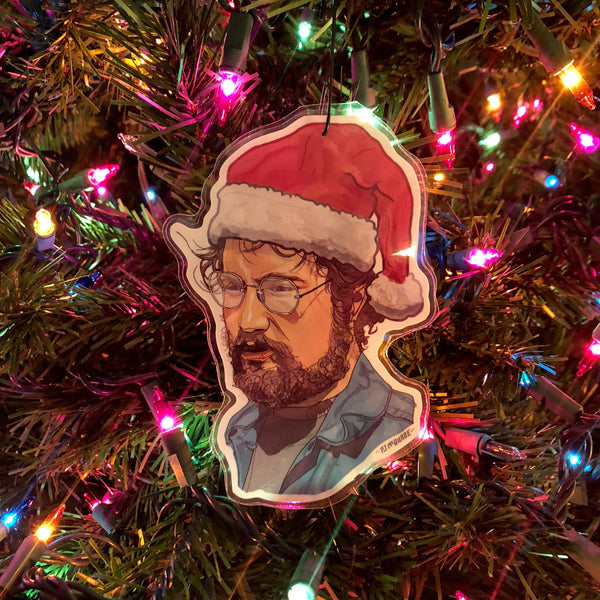 HOOPER Jaws CHRISTMAS ORNAMENT!