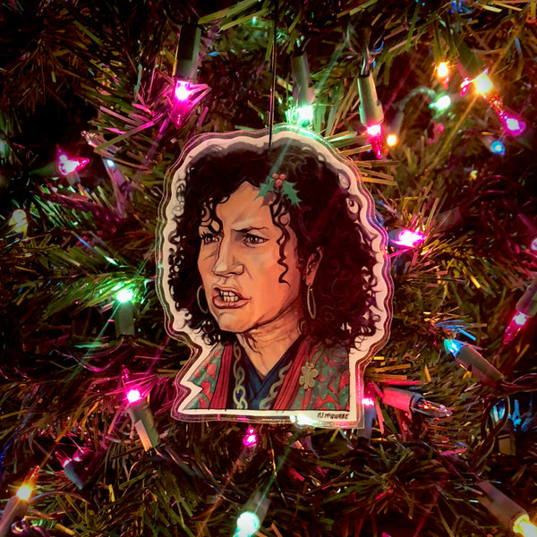 SUSIE ESSMAN Curb Your Enthusiasm Christmas ORNAMENT!