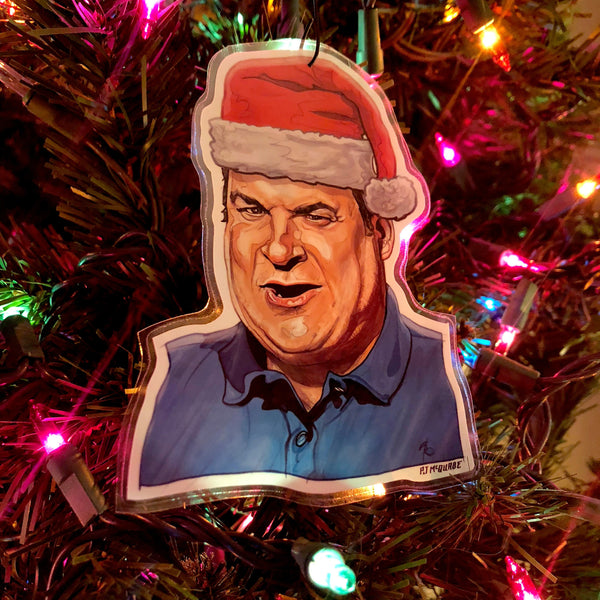 JEFF Curb Your Enthusiasm Christmas ORNAMENT!