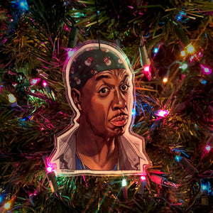 LEON Curb Your Enthusiasm Christmas ORNAMENT!