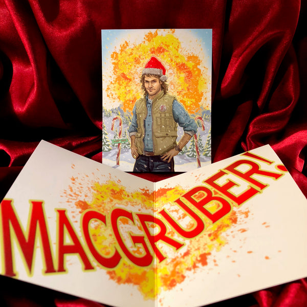 MACGRUBER! CHRISTMAS CARD!