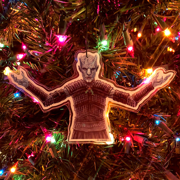 NIGHT KING Game of Thrones Christmas ORNAMENT!