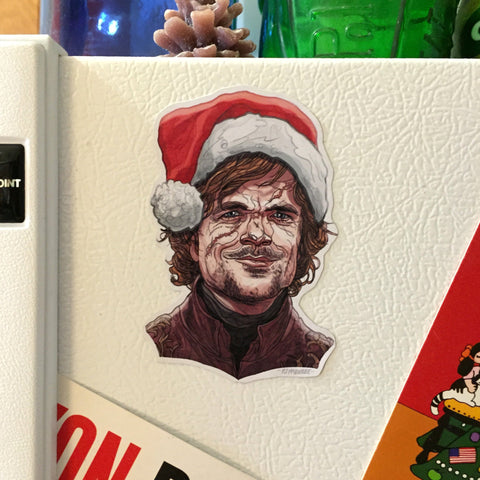 TYRION LANNISTER Game of Thrones CHRISTMAS Magnet!