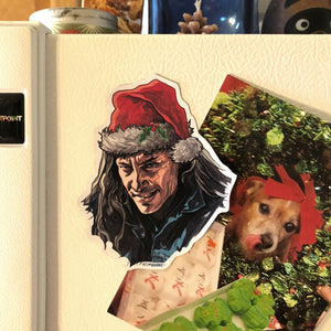 BOB Twin Peaks Christmas FRIDGE MAGNET!