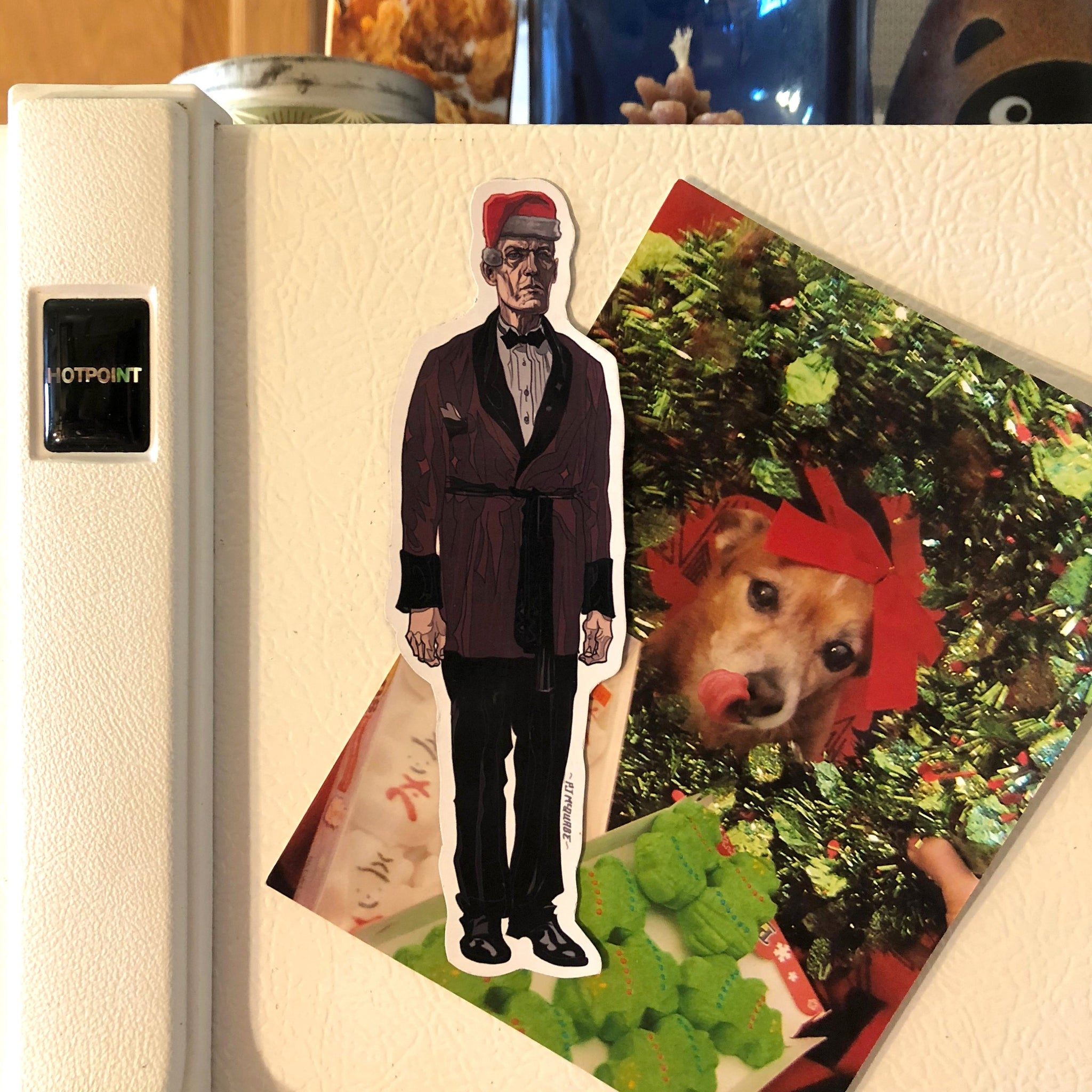 The GIANT Twin Peaks Christmas FRIDGE MAGNET!