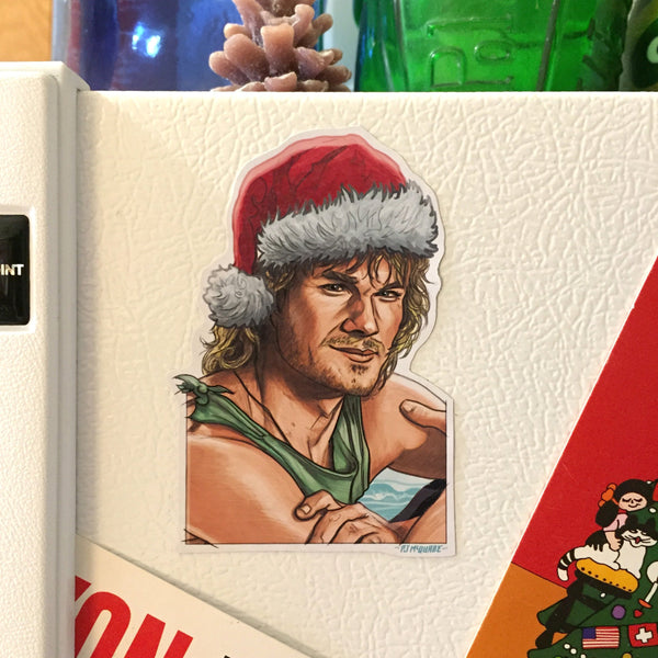 BODHI Point Break Christmas Fridge MAGNET!