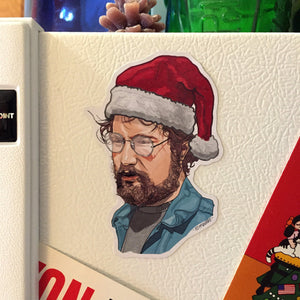 HOOPER Jaws Christmas FRIDGE MAGNET!