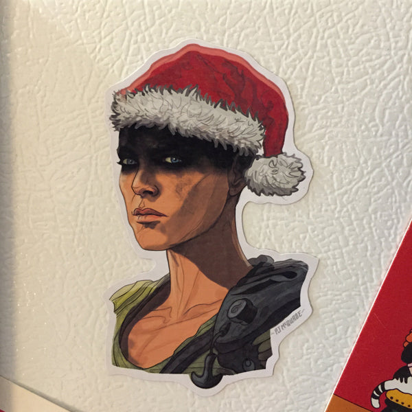 FURISOA Mad Max: Fury Road Christmas Fridge MAGNET!