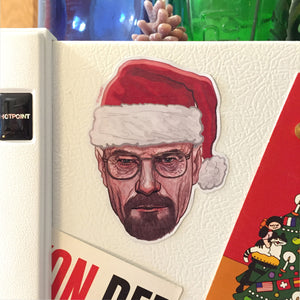 WALTER WHITE Breaking Bad CHRISTMAS Fridge MAGNET!