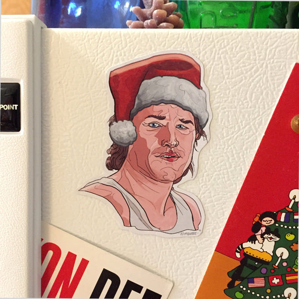 JACK BURTON Big Trouble Little China Christmas Fridge MAGNET!
