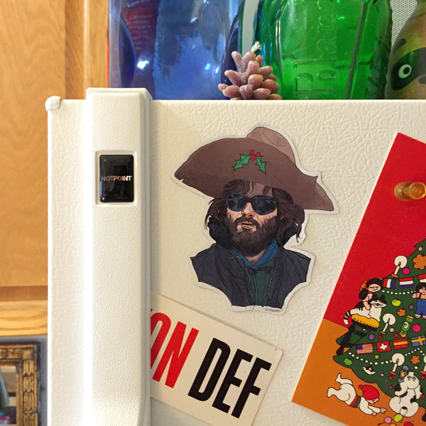 RJ MacREADY The Thing Christmas Fridge MAGNET!