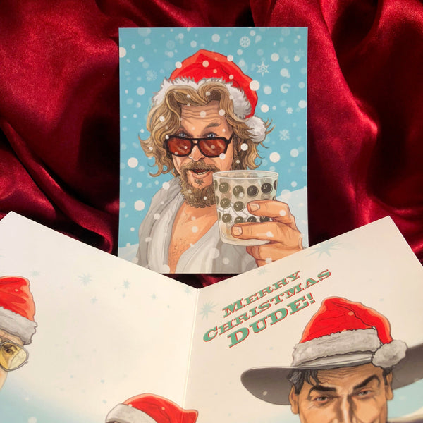 The DUDE Big Lebowski CHRISTMAS CARD!