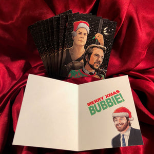 10 PACK DIE HARD Christmas Card!