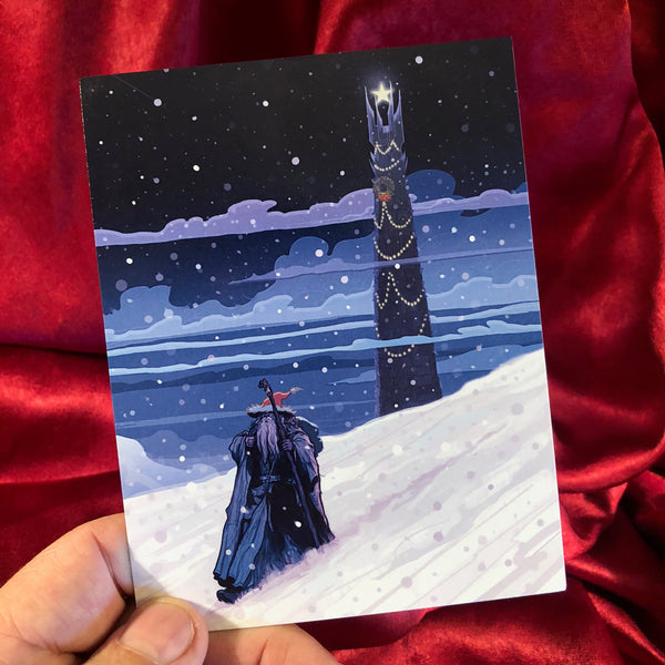 GANDALF Lord of the Rings CHRISTMAS CARD!