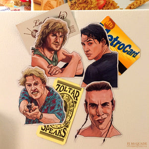 Point Break FRIDGE MAGNET SET!