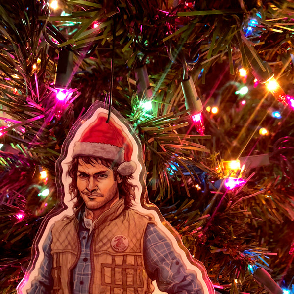 MACGRUBER! Christmas ORNAMENT!