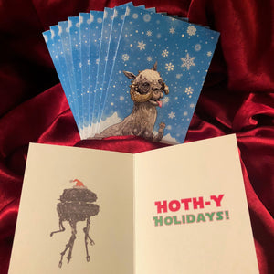 TAUNTAUN Star Wars 10 Pack CHRISTMAS CARDS!