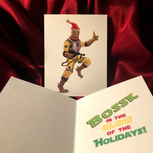 BOSSK Star Wars CHRISTMAS CARD!